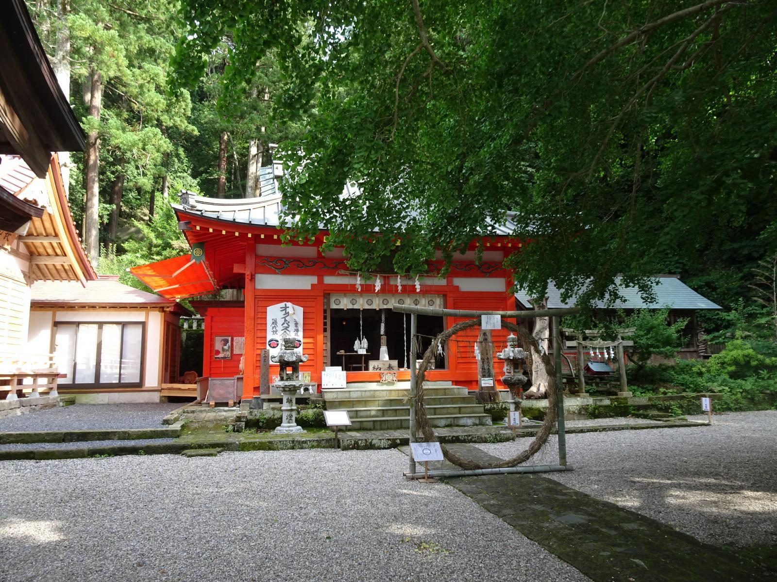 伊那下神社(西伊豆 松崎)